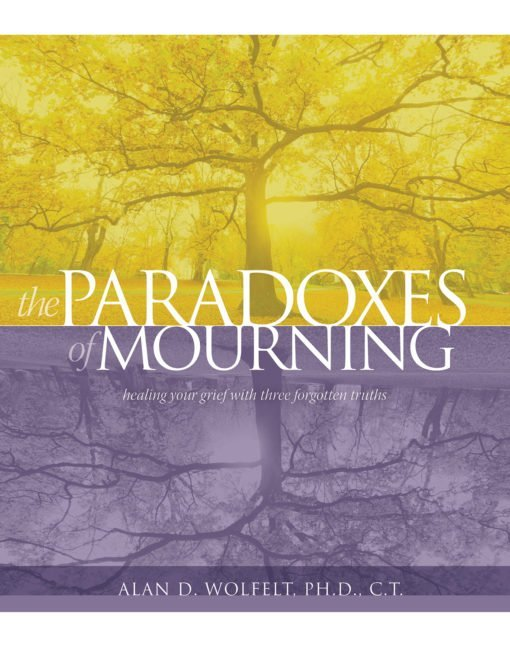 Participants will receive a copy of The Paradoxes of Mourning: Healing Your Grief with Three Forgotten Truths.