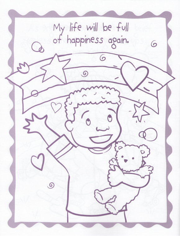How I Feel - A Coloring Book For Grieving Children