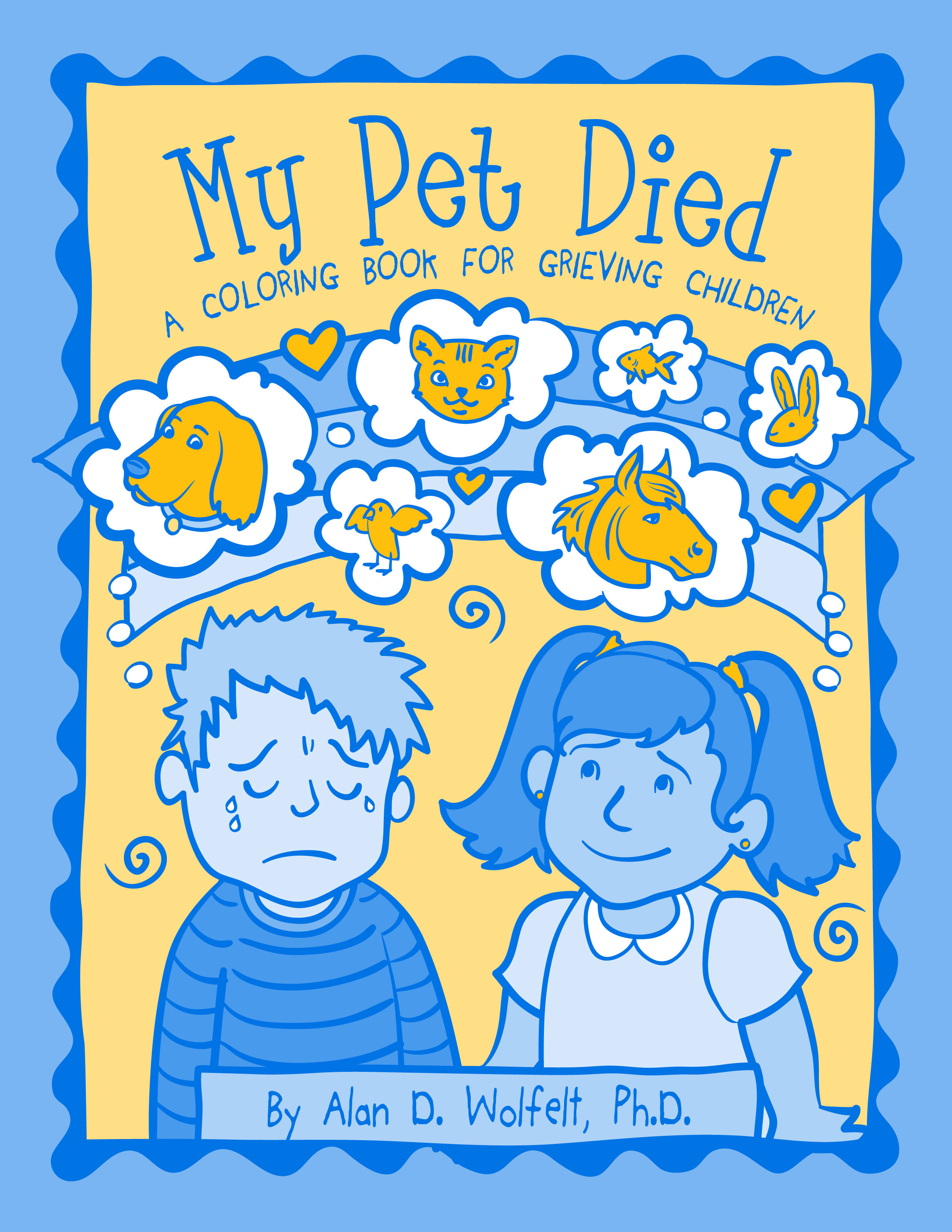 My Pet Died: A Coloring Book Bulk Order Discount