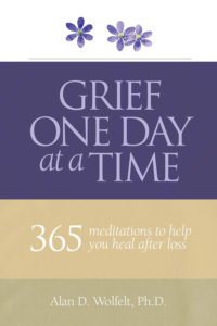 Grief One Day at a Time cover