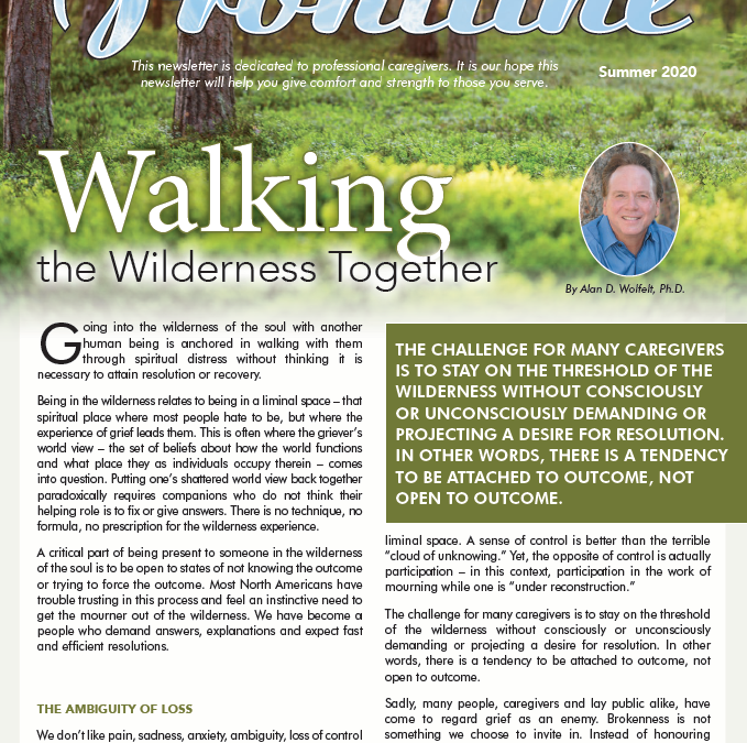 Frontline: Walking the Wilderness Together