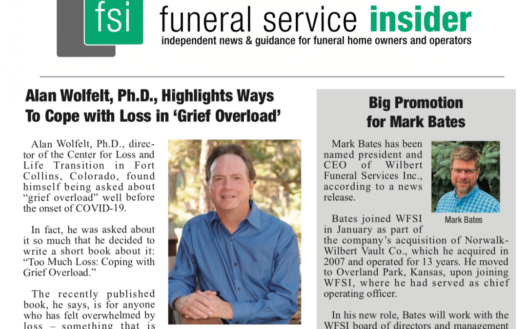 Funeral Service Insider: Ways to Cope with Grief Overload